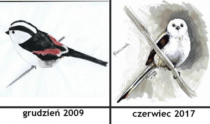 Po 8 latach... małe porównanie :)
