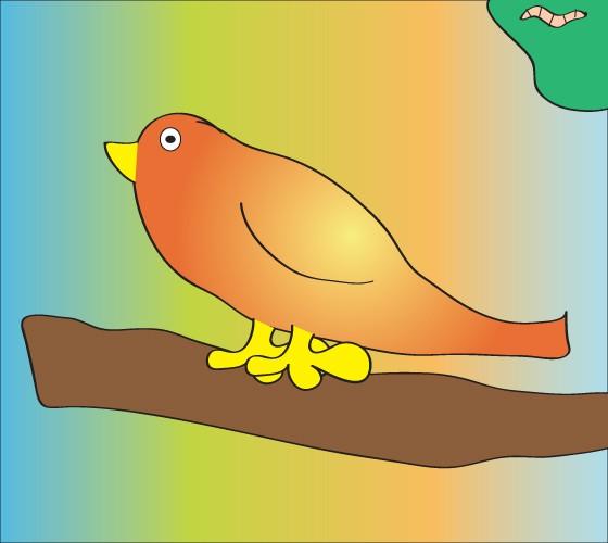 Mój zmyślony ptaszek